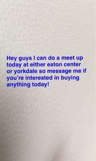 Meet up today!