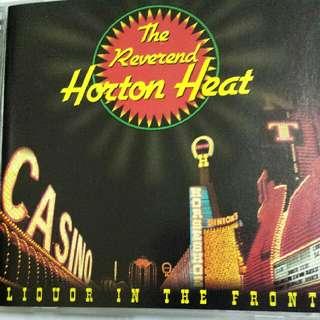 Music CD: The Reverend Horton Heat –Liquor In The Front