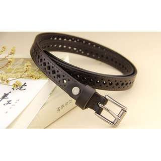 Women's Leather Belt (Free Size) with free new scarf