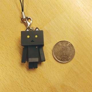貓咪愣 纸箱猫 千值練 吊飾 可動