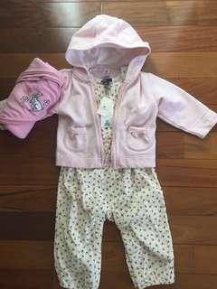 BabyGap Jumpsuit, Jacket, Blanket Size 12/18/24 mo.