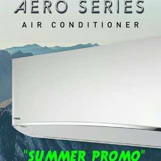 "Brandnew PANASONIC Inverter Split type Aircon ""SUMMER SALE"" 2018"