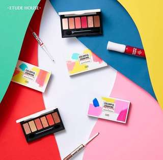 [🌸ETUDE PO] ETUDE HOUSE Colorful Drawing Fantastic Color Eyes