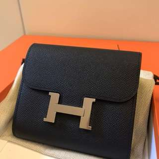 NEW HERMES CONSTANCE COMPACT WALLET😍