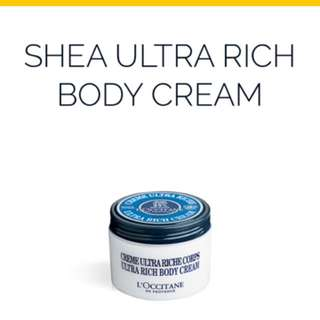 BN L'Occitane Ultra Rich body cream
