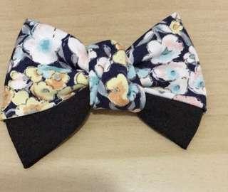 韓國復古風蝴蝶髮夾