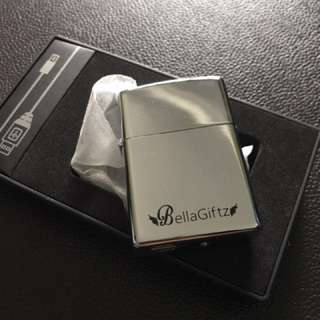 Silver Electronic lighter