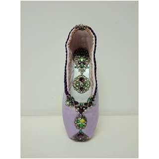 ✳芭蕾舞鞋✳手作藝品/紫醉金迷