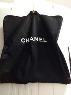 authentic chanel paris garment bag