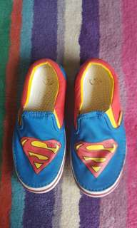 Superman slip on kids