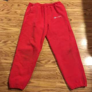 🔥🔥💯👌 authentic very rare Vintage champion sweatpants