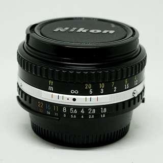 Nikon e series 50mm f1.8