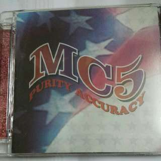 Music CD: MC5 ‎– Purity Accuracy