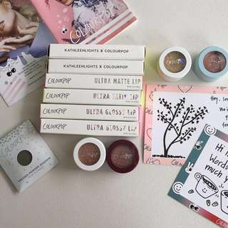 Colourpop Items