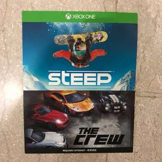 Xbox One Game: The Crew & Steep  SALE DROPPING PRICE