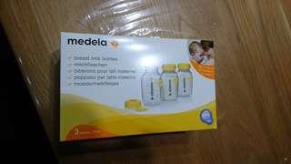 Medela Breastmilk Bottles x 3