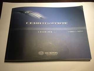 Kia Cerato Forte - Owner's Manual