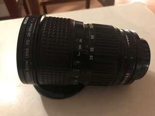 canon zoom lens fd 28-85mm 1:4