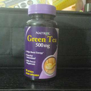 Natrol Green Tea 500mg