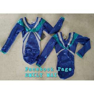 Long Sleeve Leotard with beads