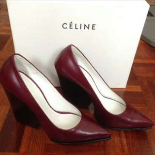 Celine wedges ( reduce price!!) RM1000