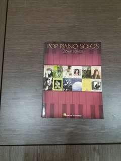 Pop Piano Solos 26 Hit Songs Hal•Leonard