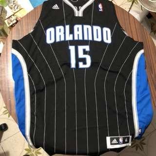 (新舊如圖)NBA 魔術 15號 Hedo Turkoglu 特克格魯 Swingman 球衣 XL