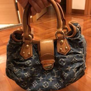LV denim bag