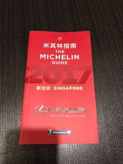 The Michelin Guide Singapore 2017