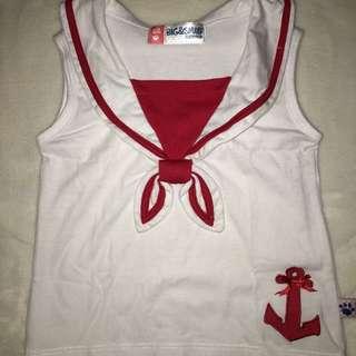 Big&Small Company Sailor Top