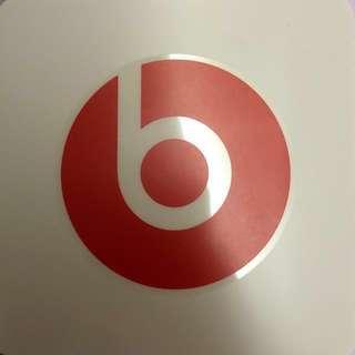 Dr. Dre Beats Logo Sticker