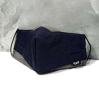 🚚 口罩 機能透氣保暖口罩 深藍色  Mask 全新