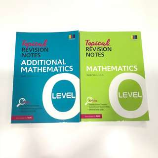 O LEVEL TOPICAL REVISION NOTES AMATH&EMATH