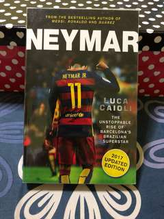 Neymar Jr Biography/Book