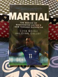 Anthony Martial Biography/Book