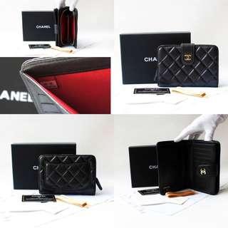 Chanel Classic Lambskin Short