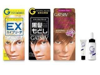 GATSBY Hair Color Remake (Natural Black)