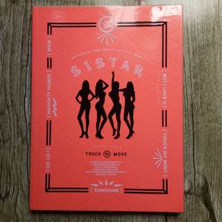 SISTAR Touch and Move Album