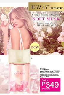 SOFT MUSK EAU DE TOILETTE 50 ML