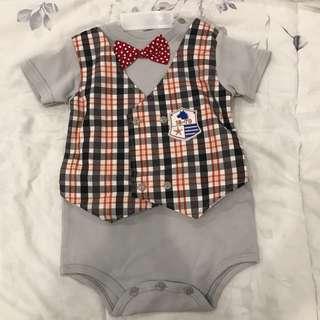 Bow tie grey  bayi baby
