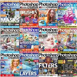 Photoshop Creative  Digital Magazine  Issue 148 to 161 ( 14 Issues) - PDF Copy