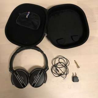 Audio-technica Active Noise-cancelling Headphone