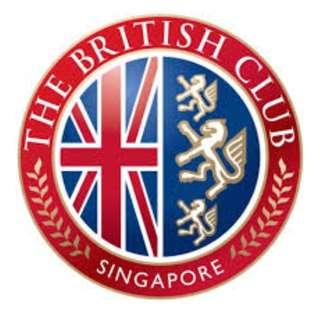 British Club Lifetime Membership