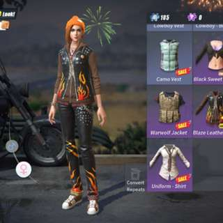 Rules of survival ios account