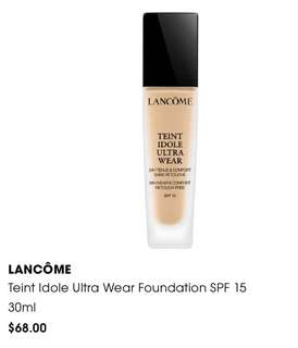 BN Lancome Teint Idole Ultra Wear Foundation