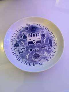 Crabtree & Evelyn Collectors Small Plate