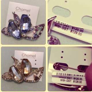 Chomel Dress Brooch