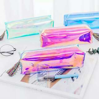 Holographic Pencil Case