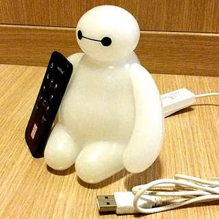 Baymax USB light with control 遙控燈