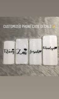 Customized Iphone Cases and Car Sticker Decals